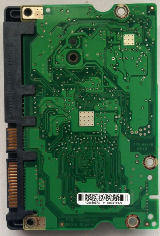Seagate St3500320as, Stm3500320as, St3500320sv Hdd Pcb 100466725 Rev A
