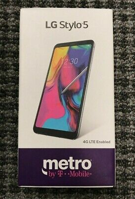 LG Stylo 5 - 32Gb White - **WORKS WITH METROPCS ONLY**