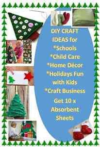 Christmas Decoration Craft DIY Designs-10 x Multi Purpose Towels Carseldine Brisbane North East Preview