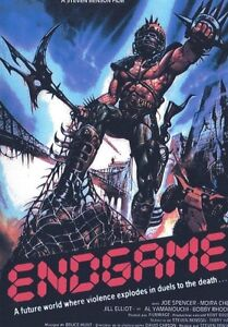 Endgame - Bronx lotta finale - Directed by Joe D'Amato, Uncut, with Laura Gemser