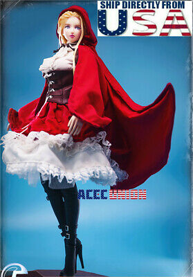 Costumes For Little Red Riding Hood (1/6 Lolita Costumes Little Red Riding Hood For 12