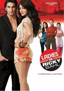 Ladies vs Ricky Bahl - Ranveer Singh, Anushka Sharma bollywood hindi movie dvd