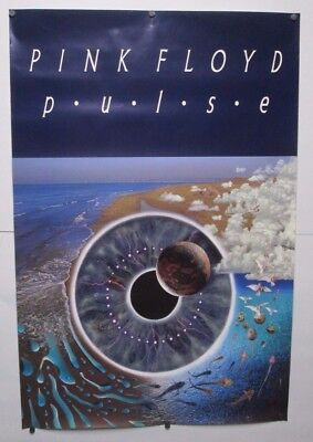 1995 Pink Floyd Pulse Poster 3 Ft X 2 Ft Columbia Sony Music