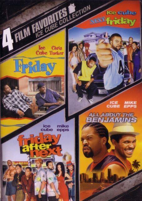 ICE CUBE DVD COLLECTION 4 MOVIES - FRIDAY, NEXT FRIDAY, FRIDAY AFTER NEXT+