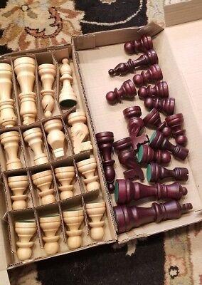 16 Wood Chess - WOOD CHESS SET 3