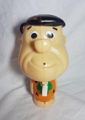 Vintage Durham Water Gun Fred Flintstone Hanna Barbera Toy