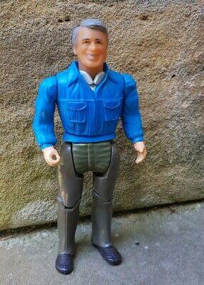 "A Team 6"" John Hannibal Rare blue shirt variant 1983 Galoob Mr T Cannell Vintage"