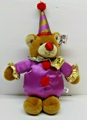 CIRCUS CIRCUS HOTEL CASINO LAS VEGAS RENO PLUSH BEAR WITH TAG