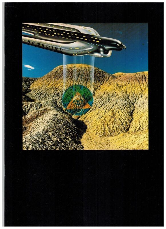 HAWKWIND 1980 TOURBOOK VF/+ GINGER BAKERs BAND