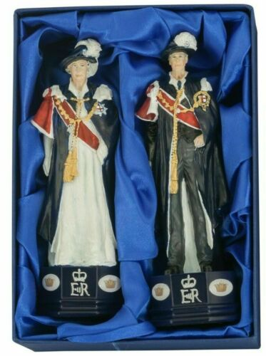 Special Edition SAC Diamond Jubilee Prince Philip & Queen Elizabeth Chess Pieces