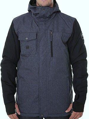QUIKSILVER Men's MISSION DENIM Snow Jacket - BTK0 - Medium - NWT ()