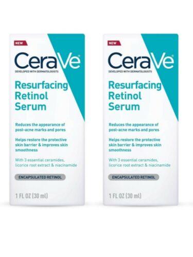 CeraVe Resurfacing Retinol Serum 1FL OZ 30ML NEW SALE