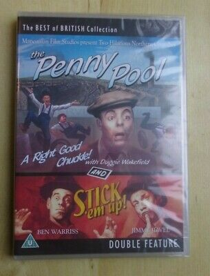 The Penny Pool and Stick 'em up! Best of British Comedy Double DVD New (The Best Pool Sticks)