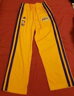 ADIDAS AUTHENTIC NBA LAKERS KOBE BRYANT WARM-UP GOLD SMALL PANTS CLIMA 365 comprar usado  Enviando para Brazil