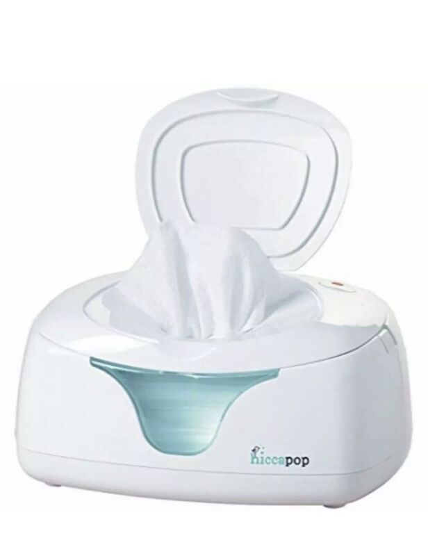 hiccapop Wipe Warmer and Baby Wet Wipes Dispenser Holder With Changing Light