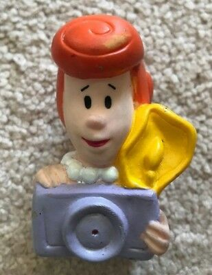 Wilma Flintstone Soft Vinyl Water Squirter from the Flintstones Denny's 1991