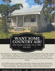 HOUSE LAND - FOR SALE CHEAP! Tarrington Southern Grampians Preview