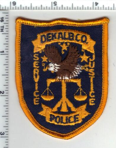 Dekalb County Police (Georgia) 1st Issue Cap/Hat Patch