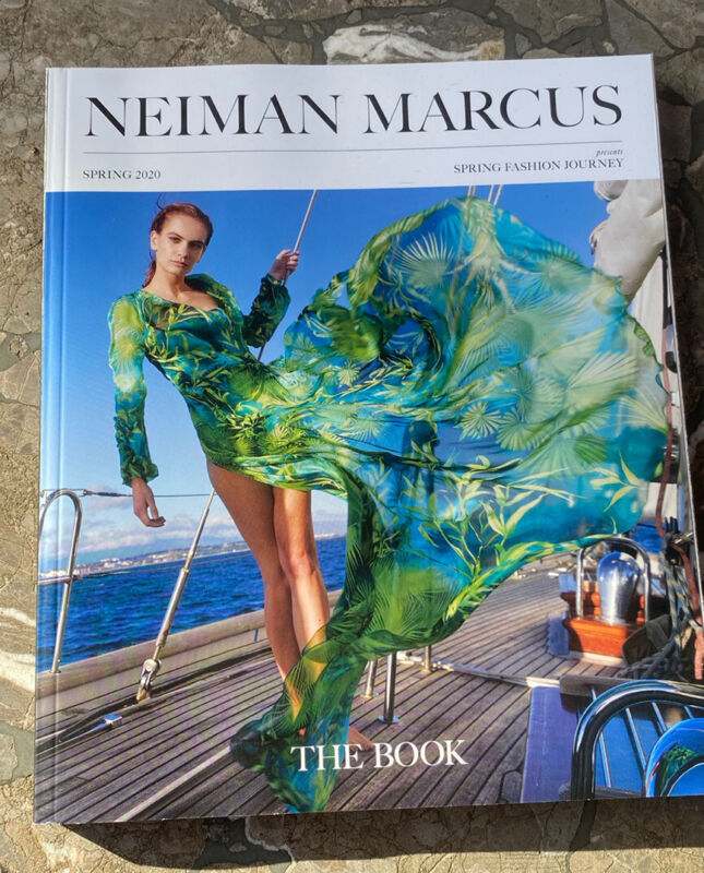 The Book NEIMAN MARCUS CATALOG Spring 2020 #187 Two-Sided