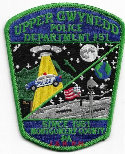 "*NEW* Upper Gwynedd / Mont. Co, PA  (3.5"" x 4.5"")  shoulder police patch (fire)"