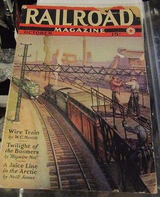 Railroad magazine October 1939