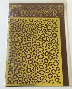Dreamweaver Brass Stencils - Animal Print - NEW