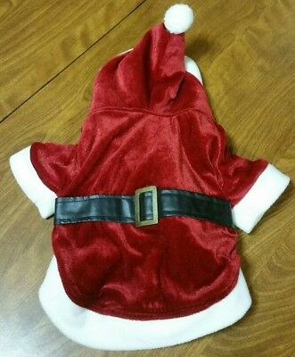 REVERSIBLE - 2 IN 1 - SANTA & ELF CHRISTMAS DOG COSTUME