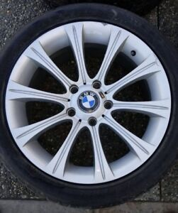 "BMW OEM 17"" Wheels + Tires - Style 166"