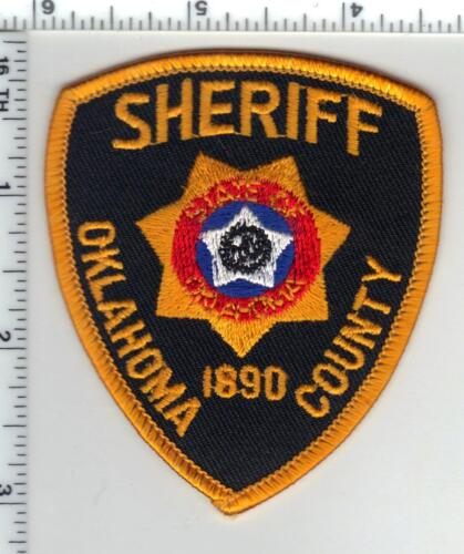 Oklahoma County Sheriff (Oklahoma) Cap/Hat Patch - new