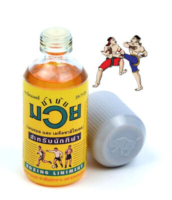 Authentic Original Namman Muay Thai Boxing Oil Liniment Muscle 120 Ml
