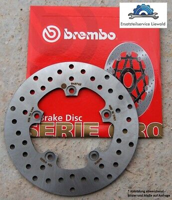 Brembo 68B407E5 Bremsscheibe Malaguti Password Madison Spidermax