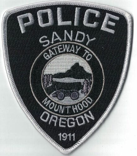 Sandy Police subd. OR Police OREGON patch