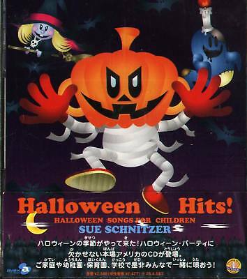 Halloween Hits Songs For Children SUE SCHNITZER - Japan CD - NEW - Halloween Songs For Childrens