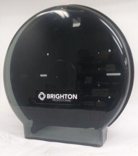 New, Brighton Professional Single Jumbo Toilet Tissue Dispenser, Smoke Black