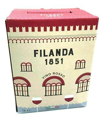 harmonischer BIB Rotwein CABERNET SAUVIGNON aus dem Treviso, 5-Liter Bag-in-Box