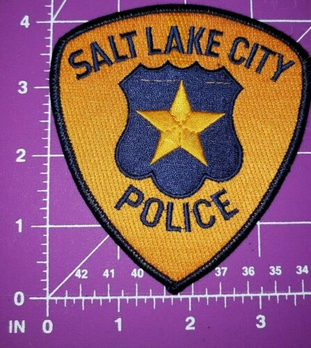 Rare Vintage Salt Lake City Utah Patch