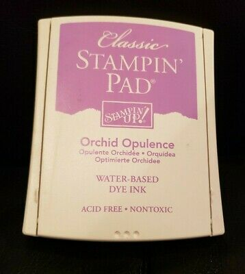 Purple Ink Pad - Stampin Up Ink Pad Orchid Opulence Purple Teacher Card Making Craft Scrapbooking