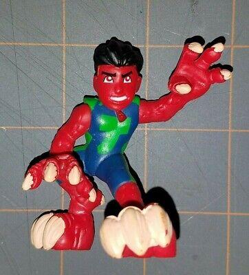 Marvel Super Hero Squad SHS Reptile Red Dinoboy Wave 18 Figure Cartoon