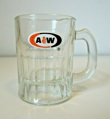 "A&W ROOT BEER ""ALL AMERICAN FOOD"" CHILDS MINI MUG - OVAL LOGO 3"""