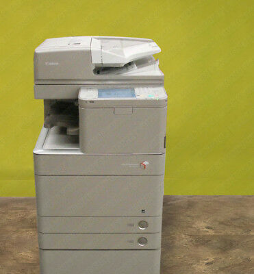 Canon Ir Advance C5250 Tabloid Ledger Color Laser Printer Copier Scanner 50ppm