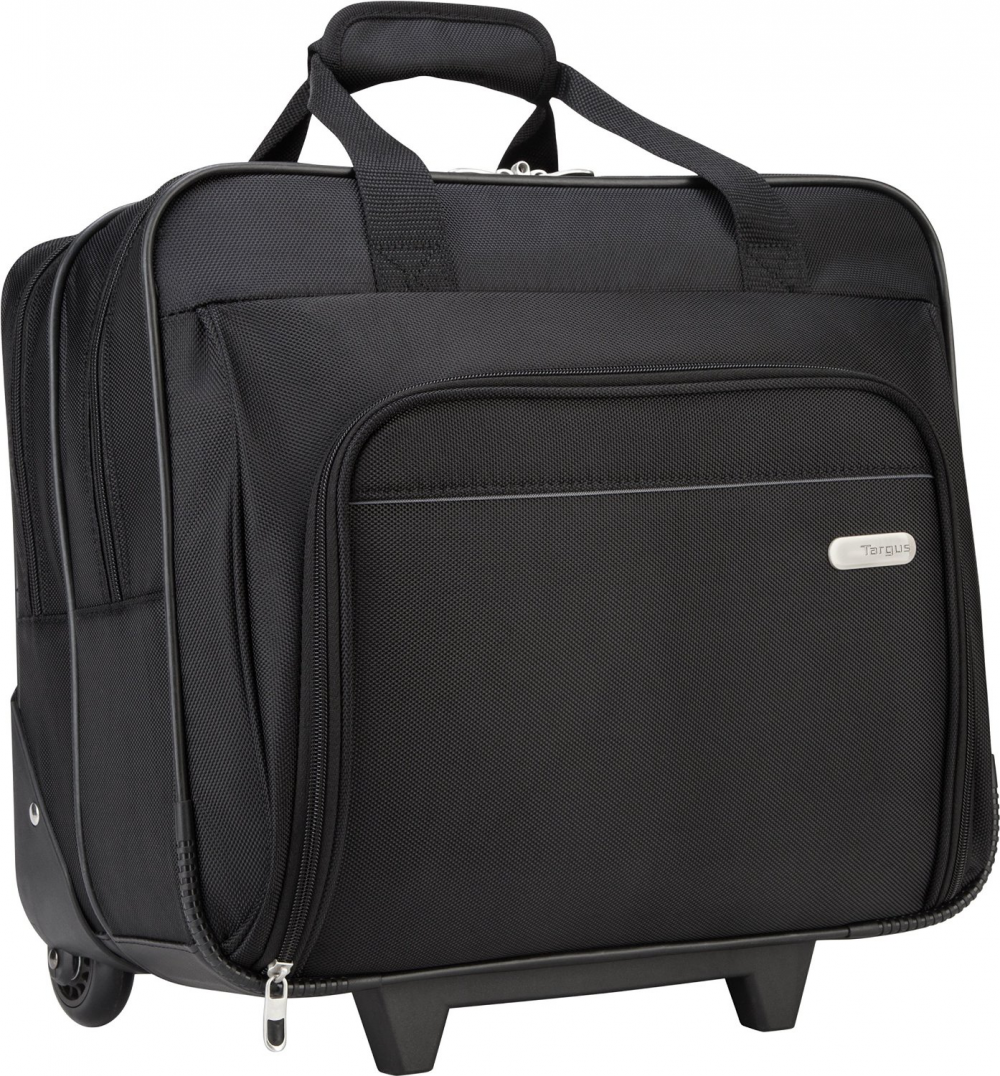 Targus Metro Rolling Case For 16-inch Laptop, Black (Tbr003us) 8