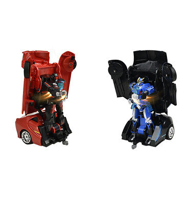Odyssey Auto Moto: Remote-Controlled Transforming Battling Robots, 2-Pack