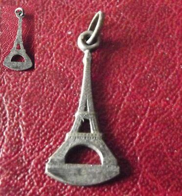 Ancien Pendentif TOUR EIFFEL Paris France Antique religious cross pendant comprar usado  Enviando para Brazil