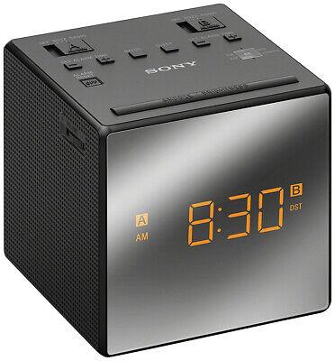 Sony ICF-C1T AM/FM Dual Alarm Clock Radio ICFC1T Black