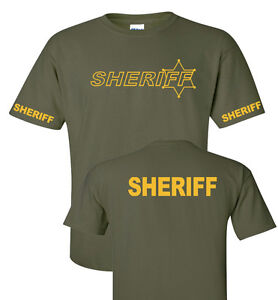 Deputy Sheriff and  Police  Law enforcement t shirts