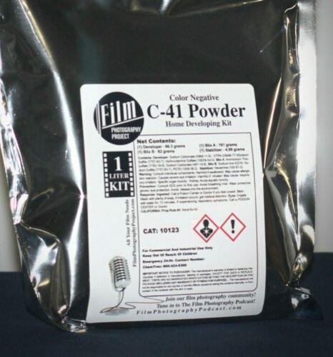 Color Negative C-41 Development Kit (1-Liter Powder)