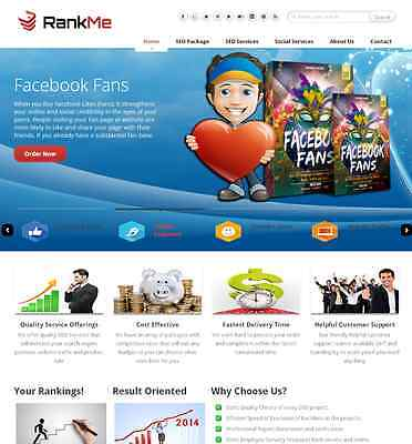 Seo Social Marketing Services Reseller Website Free Hosting