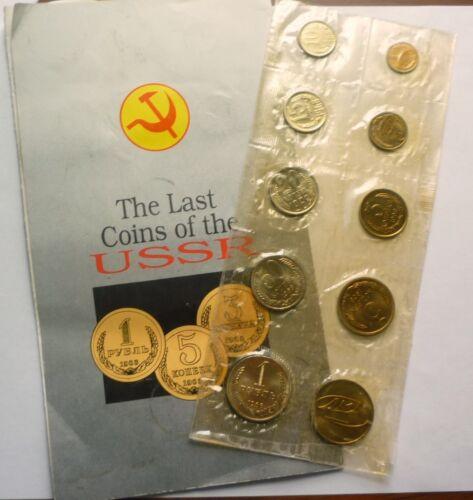 1968 RUSSIA USSR CCCP SOVIET UNION - OFFICIAL LENINGRAD MINT PROOFLIKE SET (9)