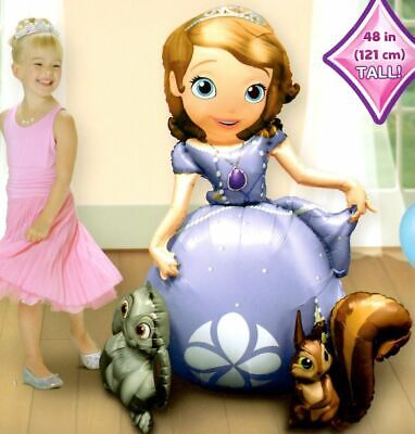 Sofia the First Airwalker Birthday Party Jumbo Balloon Decoration Prop - Sofia The First Birthday Party Decorations