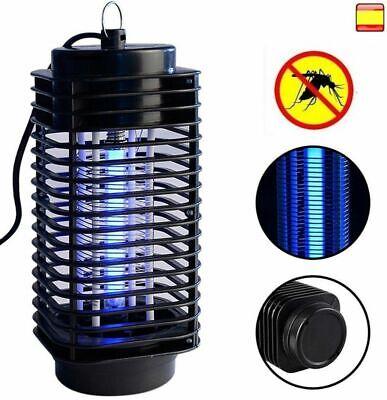 Lámpara Mata Moscas y Mosquitos Eléctrico Luz Ultravioleta Control Plagas Colgar